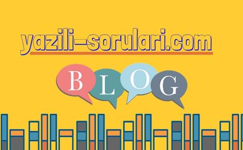 Güncel Yazılı Soruları 2018 2019 Sınavlara Hazırlanmak Artık Daha