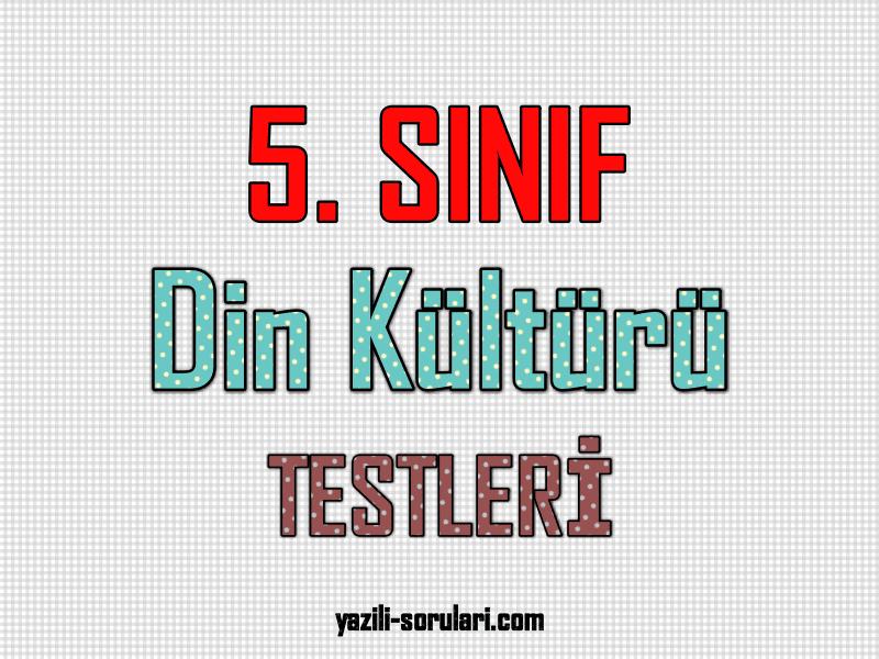 5. sınıf dkab test